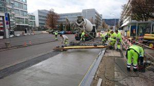 Zürich, Erhöhung Haltekanten